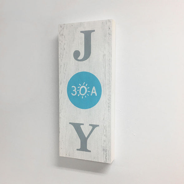 30A JOY wooden sign