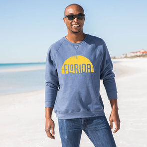 Florida Sun Recycled Crewneck Sweatshirt