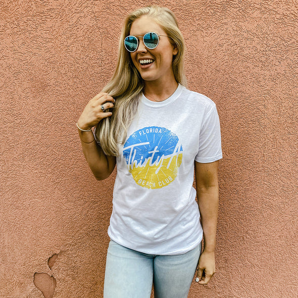 Thirty A Beach Club Recycled Tee