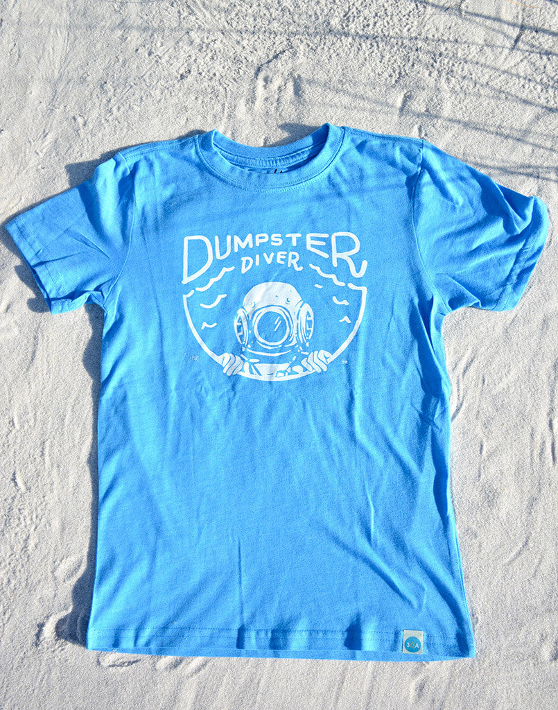 dumpster diver recycled shirt for kids