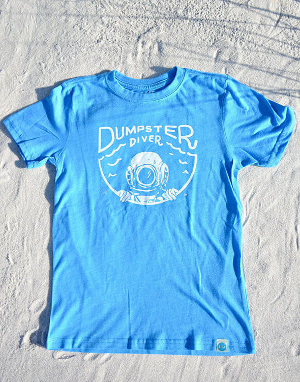 30A Dumpster Diver Recycled Shirt for Kids