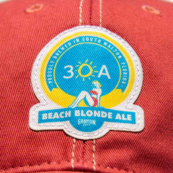 30A Beach Blonde Ale Mesh Back Trucker Hat