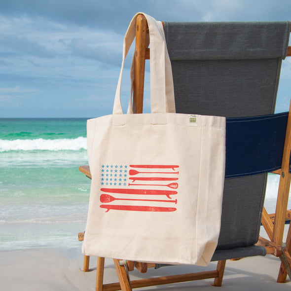Recycled Canvas Beach Bag