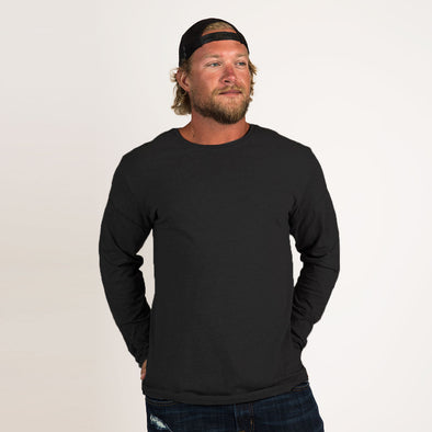 Men's Basic Recycled Long Sleeve Tee
