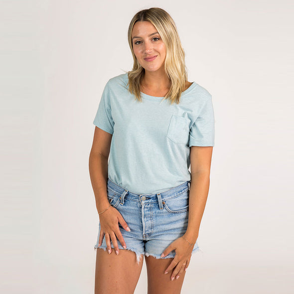 Women's Basic Recycled Slouch Tee