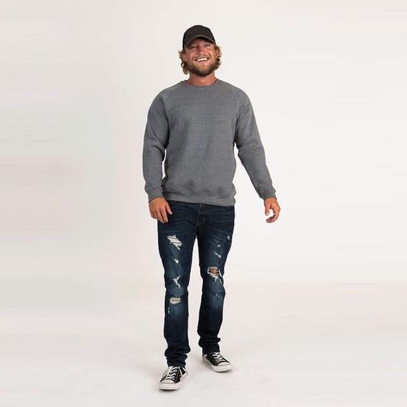 Men's Basic Recycled Crew Sweatshirt