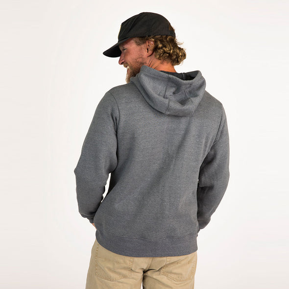 Men's Basic Recycled Full Zip Hoodie