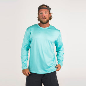 Men's Basic Recycled Long Sleeve Sun Shirt