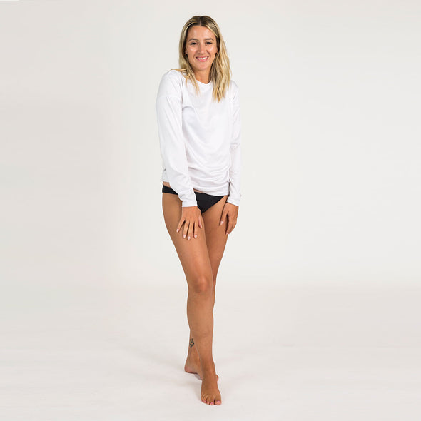 Women's Basic Recycled Long Sleeve Sun Shirt