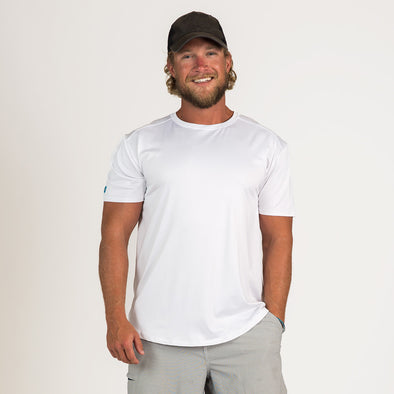 Men's Basic Short Sleeve Sun Shirt