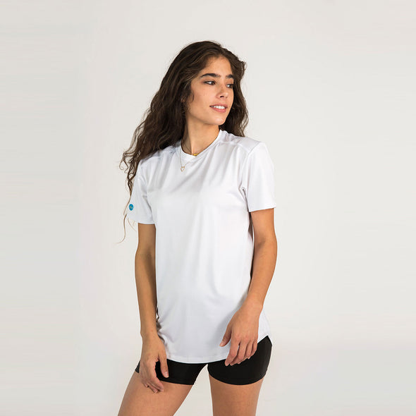 Women's Basic Short Sleeve Sun Shirt