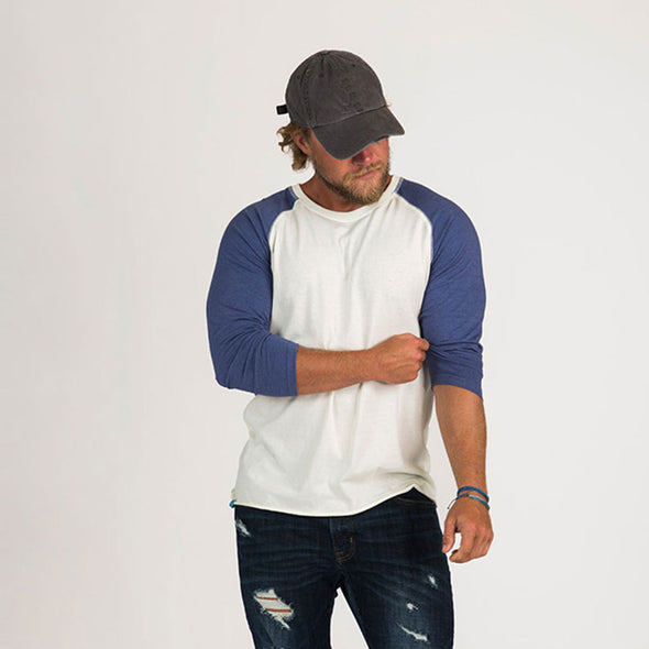 Men's Basic Recycled Baseball Tee
