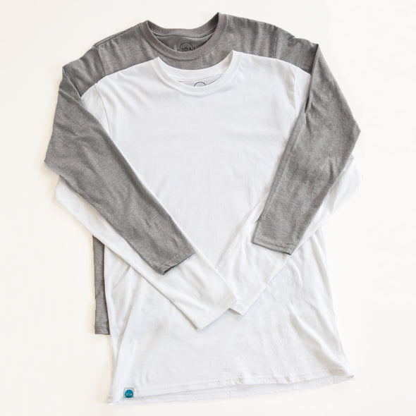 Men's Basic Recycled Long Sleeve Bundle