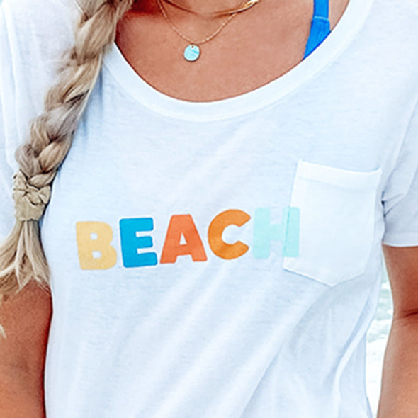 BEACH Recycled Slouch
