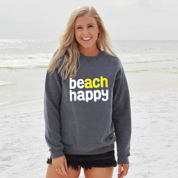 30A Beach Happy Recycled Crew Neck Sweatshirt