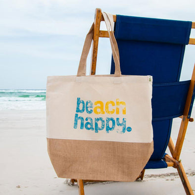 Beach Happy® Jute Bag