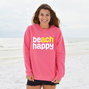 30A Beach Happy® Recycled Crew Neck Sweatshirt