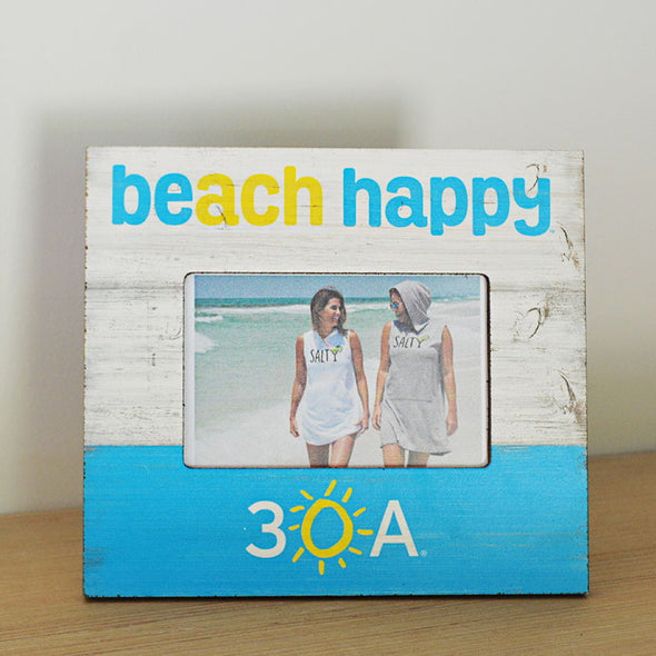 Beach Happy Picture Frame