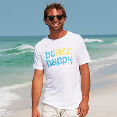 30A Beach Happy® Recycled Crew Neck Tee
