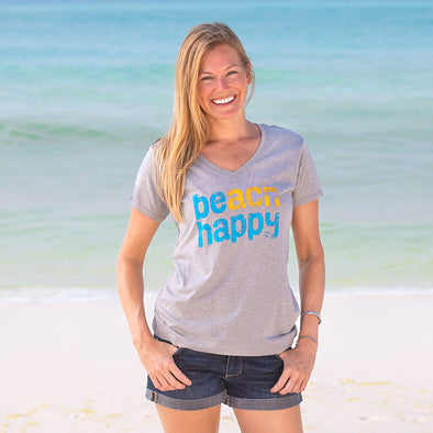 30A Beach Happy® Recycled V-Neck
