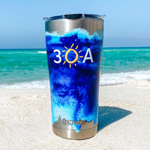 Watercolor 30A Stainless Tervis Tumbler