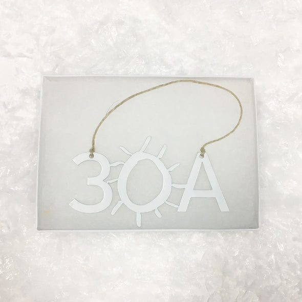 Limited Edition 30A Metal Ornament