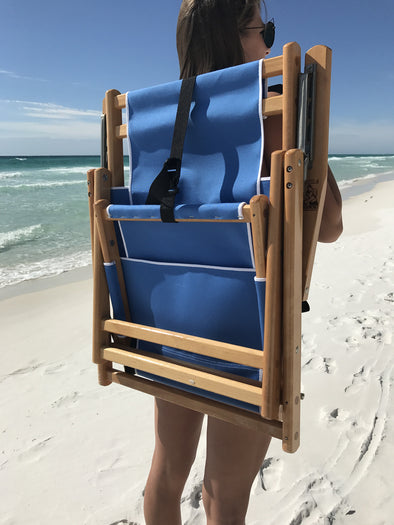 30A Beach Chairs (Backpack Style and Traditional Style)