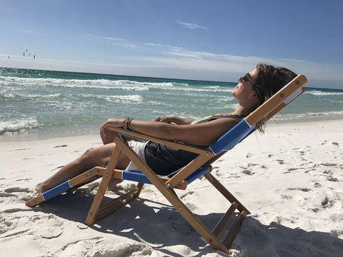 30A Beach Chairs (Backpack Style and Traditional with Leg Rest)