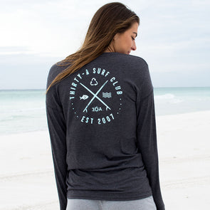 30A Surf Club Recycled Long Sleeve Tee