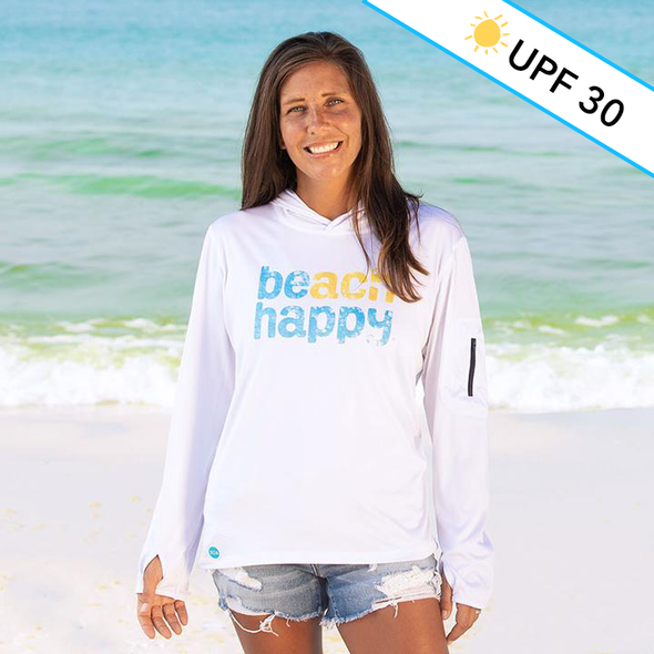 Beach Happy® Recycled Sun Shirt Hoodie