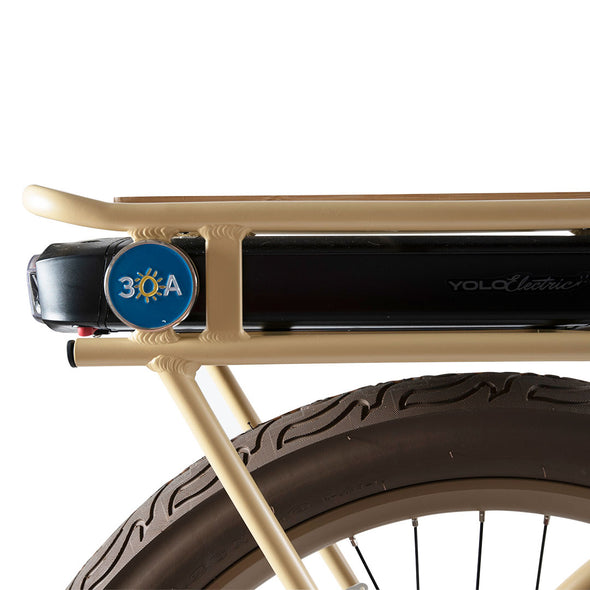 "Special ""Truman"" Edition 30A Electric Bike by YOLO"