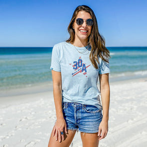 America's Beach Star Recycled Tee