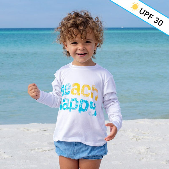 Beach Happy® Youth Recycled Long Sleeve Sun Shirt