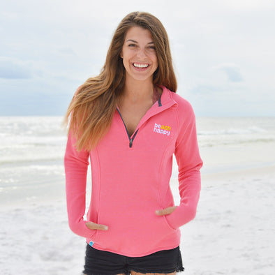 30A Beach Happy Quarter Zip Recycled Sweatshirt