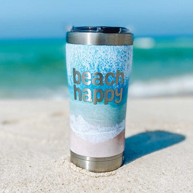 Beach Happy Tervis Stainless Tumbler