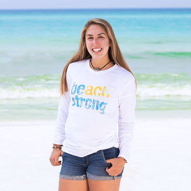 30A Beach Strong Recycled Long Sleeve - 50 Percent Profits to Charity