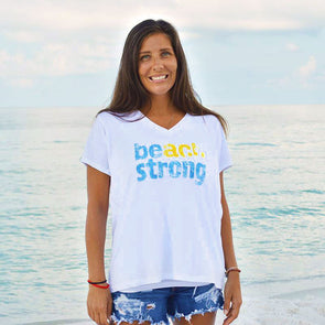 30A Beach Strong Recycled V-Neck -  50 Percent of Profits to Charity