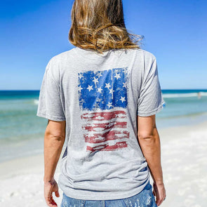 Beachy Fish Flag Recycled Tee