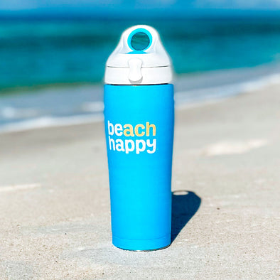 Beach Happy Blue Tervis Water Bottle