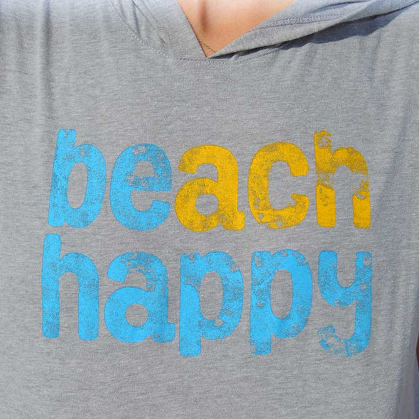 Beach Happy® Recycled Cover Up Grey