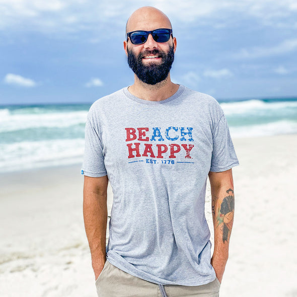 USA Beach Happy Recycled Tee