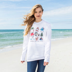 30A x Callie Danielle Christmas Recycled Long Sleeve