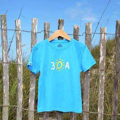 30A Hand-Drawn Recycled Shirt for Kids