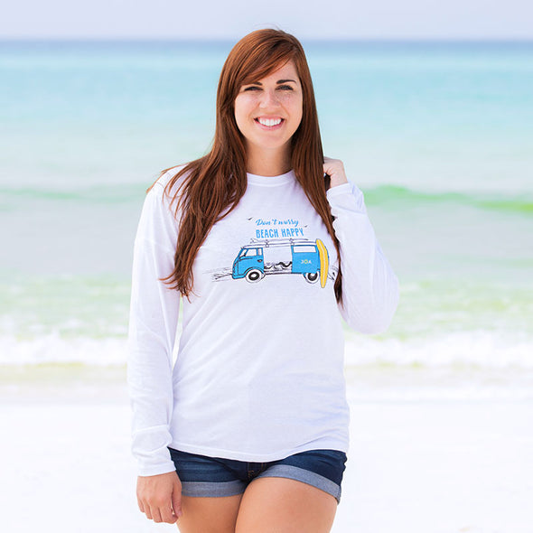 30A Don't Worry Beach Happy® Recycled Long Sleeve