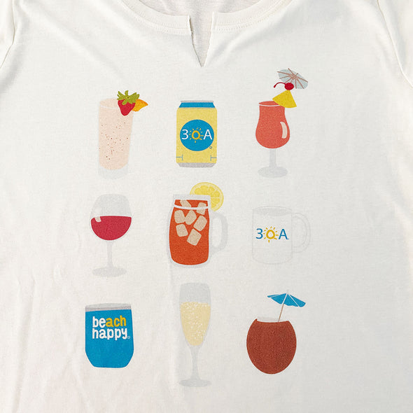 Drinks Split Tee