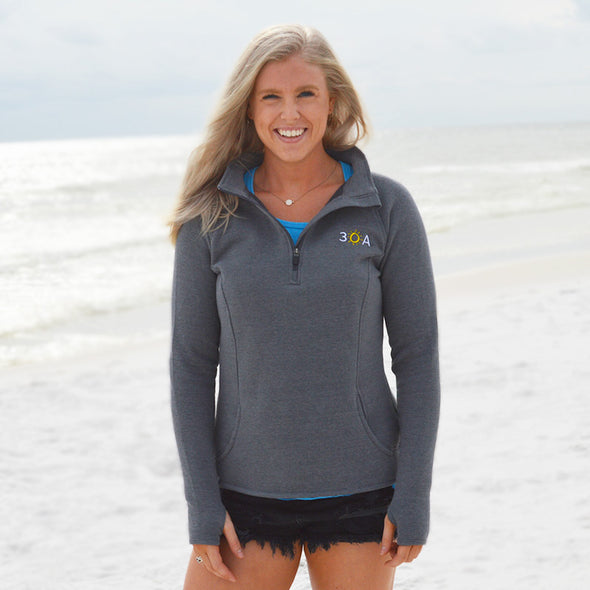 30A Quarter Zip Recycled Sweatshirt