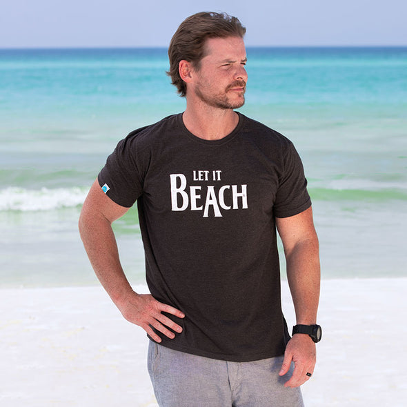 30A Let it Beach Recycled Tee