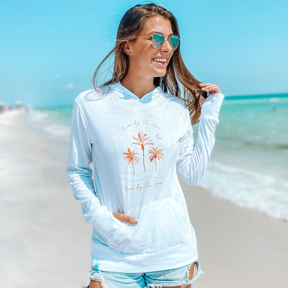 Live by the Sun Love by the Moon 30A X My Life Well Loved Recycled Hoodie