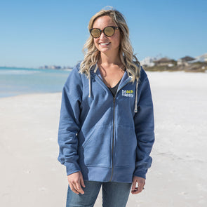 30A Beach Happy® Recycled Full Zip Sweatshirt