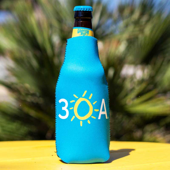 30A neoprene bottle koozie